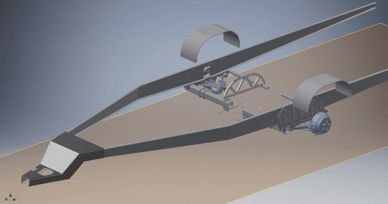 X-Ant Custom Rahmen CAD